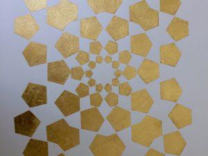 Pentagones (Or demi-jaune)